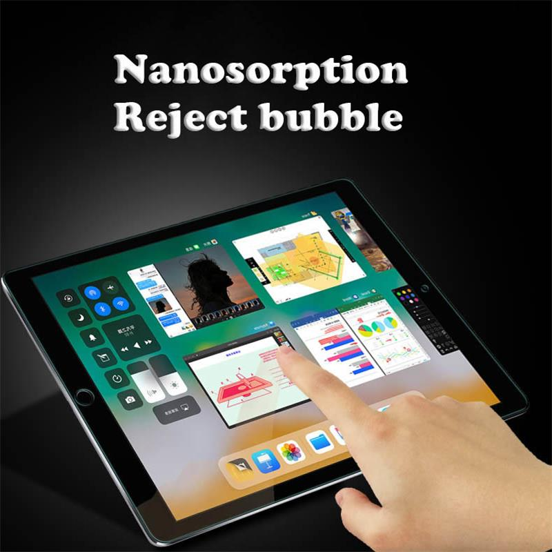 Image 5 - HD Tempered Glass For Apple iPad mini 1/2/3 mini 4  glass For ipad 2/3/4/6 glass ipad 2017/2018 glass For ipad pro 9.7 10.5 12.9-in Tablet Screen Protectors from Computer & Office
