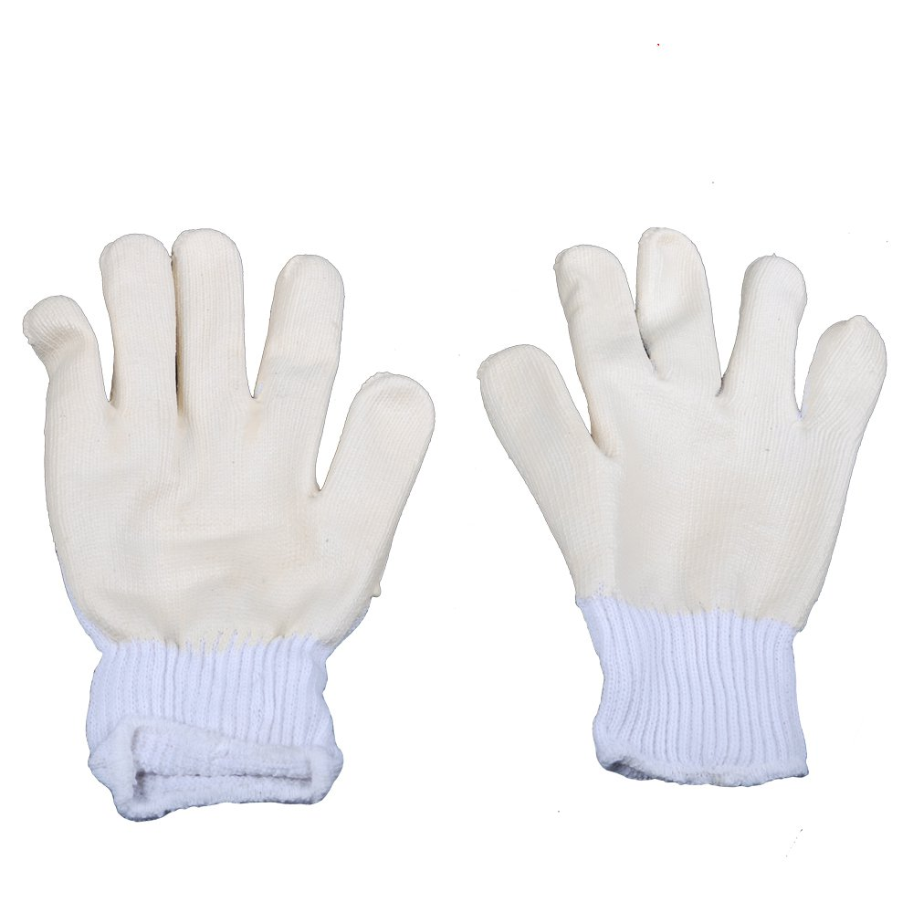 The new rubberized non-slip palm coated wire handling wear gloves labor insurance dipped