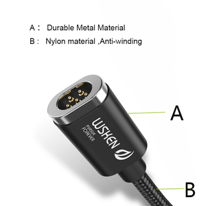 Image 4 - WSKEN Mini 2 Micro USB Cable Fast Charging Magnetic Charge For Samsung galaxy j5 2017 S6 S7 Edge xiaomi redmi note 5 5plus 4x 5a