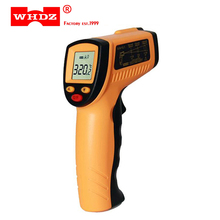 WHDZ WH320 Digital Laser LCD Display Non-Contact IR Infrared Thermometer 50 to 330 Degree Auto Temperature Meter Sensor Handheld gm1650 non contact 50 1 lcd display ir infrared digital thermometer temperature meter range 200 1650c 392 3002f