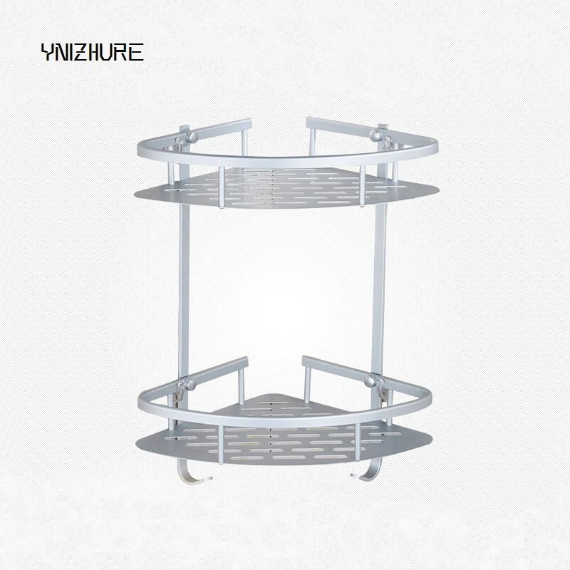 2018 Top Fashion Sonderangebot Super Last Raum Aluminium Bad Regal Wc Gitter Saugwand Dreieck Nicht Punch Fest In Der Struktur Badezimmerarmaturen