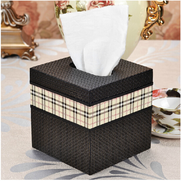 Aliexpress.com : Buy Classic Rural Home Square Wood Leather Decorative  Tissue Napkin Box Toilet Paper Holder Case Canister Dispenser Storage 418A  From ...