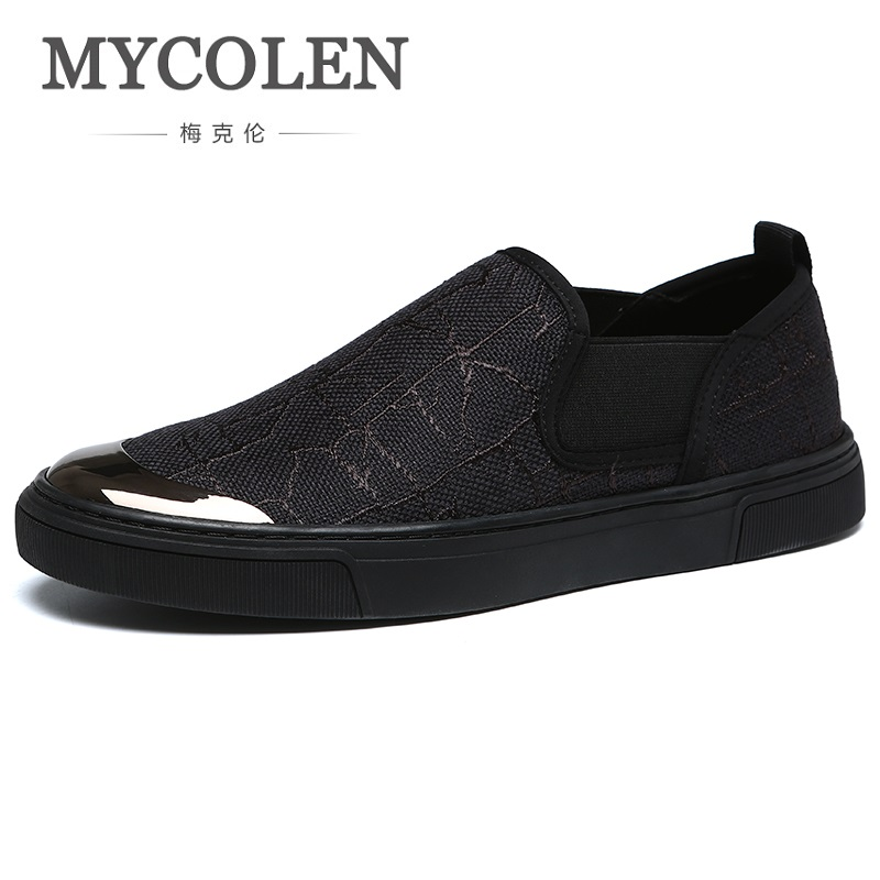 MYCOLEN 2018 Canvas Shoes Men Breathable Casual Shoes Men Shoes Soft Comfortable Outdoor Flat Lazy Male Shoes Zapato Hombre pathfinder men s vulcanize shoes men leather high style casual retro comfortable flat shoes breathable male calzado hombre