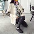 Women Cardigan Sweater 2017 Spring Autumn New Fashion Knitted O-Neck Cardigans Single Breasted Pull Femme Sweter Mujer SZQ149