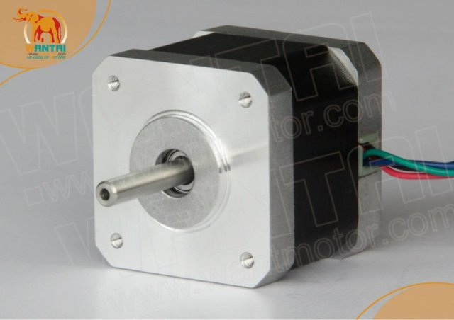 Hot Selling! Wantai 42BYGHW811Nema17 stepper motor for CNC KIts length:48mm 46N.cm 2.3A 2.76v motor step