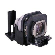 מקרן מנורת הנורה ET LAX100 עבור PANASONIC PT AX100 PT AX100E PT AX100U TH AX100 PT AX200 PT AX200E PT AX200U עם דיור