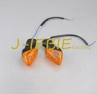 Orange Rear Turn Indicator Signal Light For Kawasaki ZX6R 2009 2010 2011 Z750 2007 2008 2009