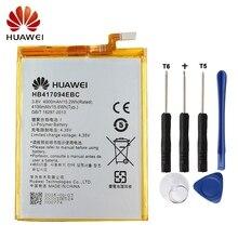 Huawei HB417094EBC Phone Battery For Huawei Ascend Mate 7 MT7 TL00 TL10 UL00 CL00 4100mAh Original Battery + Tool аккумулятор для телефона ibatt hb417094ebc для huawei ascend mate 7 ascend mate 7 mt7 l09 mt7 cl00 ascend mate 7 mt7 tl10 ascend mate 7 mt7 cl00 ascend mate 7 mt7 ul00 ascend mate 7 dual mt7 tl00 ascend mate 7 dual sim