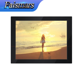Hot sale!!! Industrial Computer 12.1 inch Metal case LCD Monitor 12.1 inch TFT Coulorful Display Rack mounting Monitor PC