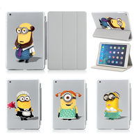 Funny Bob Kevin Stuart Hot Sale For Ipad Air Smart Case Cover Stand Tablet Designer Leather