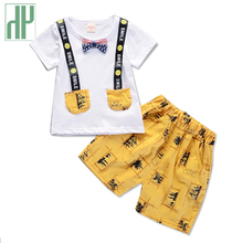 Kids fashion boys clothes Formal Infant 1 Year Birthday Party outfit Suit childrens clothing Sets kids summer boutique