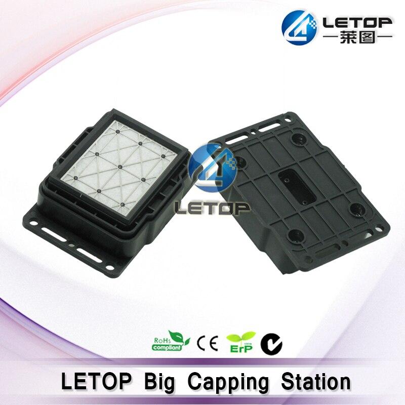Kappe station dx5 kopf für eco solvent drucker volle obsorb tinte pads