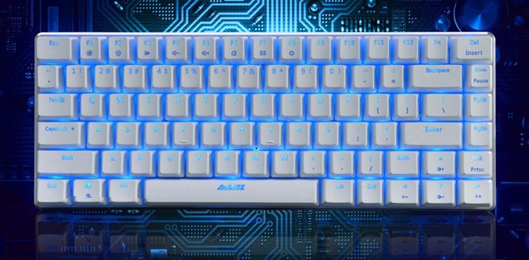 Ajazz ak33 82 teclado mecânico de jogo