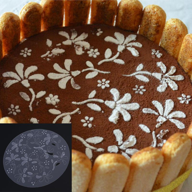 Round Cake Sugar Cutter Decorating Tools Mold