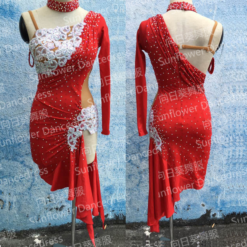 Latin Dance font b Dress b font Girl rumba samba Clothing Salsa font b Dresses b