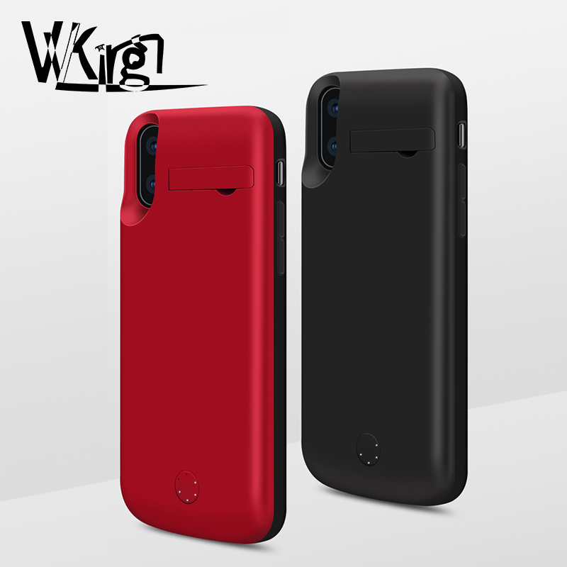 Cellphones & Telecommunications Vvking 5000mah/6000mah Battery Case For Iphone Xs Max Cover 1a Fast Charger Case For Iphon X Xs Xr Power Bank Case Support Audio