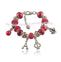 greek letters Alpha Phi Sorority Charms bead Bracelet custom bracelet Jewelry