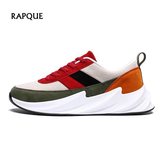 Colores Mezclados Calzado Tiburón Zapatos De Transpirables Hombre Zapatillas Diseño 2019 Hombres Plataforma Los XkOZiPu