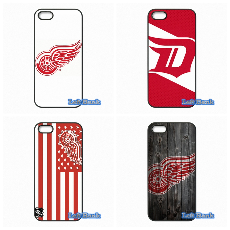 NHL Hockey Detroit Red Wings Phone Cases Cover For Apple