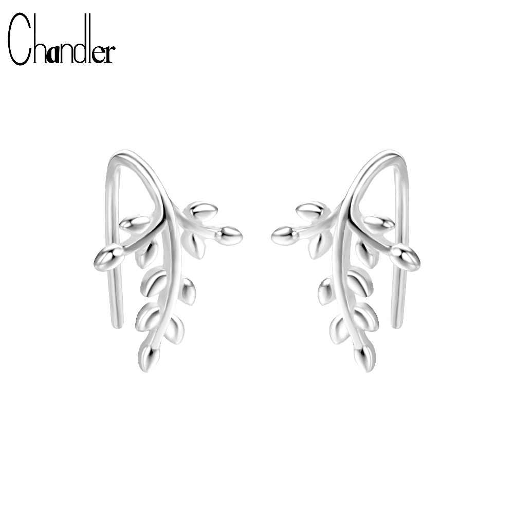 d8b2e1424f2 Detail Feedback Questions about Chandler New Silver Leaf Earring ...