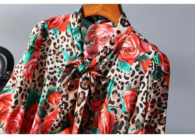 TVVOVVIN Plus Größe Split Bluse Frauen Kleidung 2019 Einzelne Brust Herbst Elegante Patchwork Drehen Unten Kragen Minderheit Hemd L511 - 3