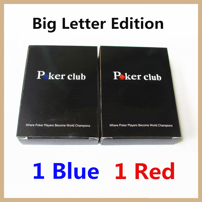 Big Character Edition Plastic Playing Card