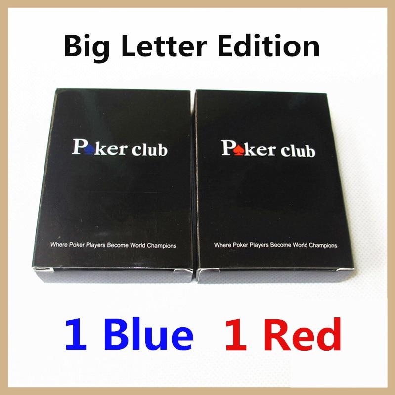 ביג אופי מהדורה פלסטיק משחק קלפים