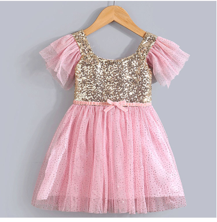 Popular Gold Infant Dress