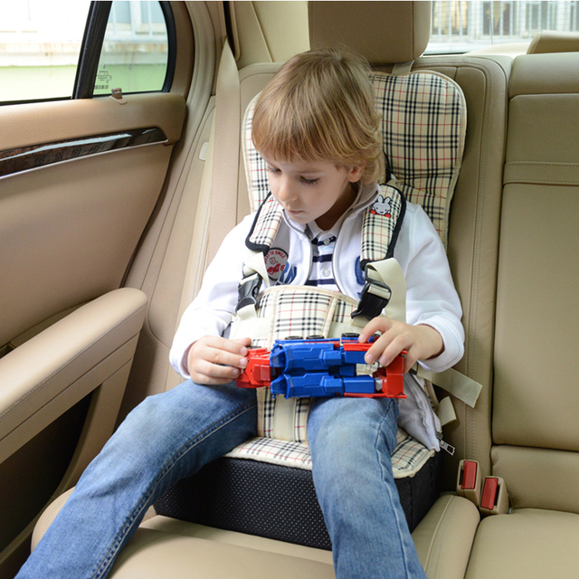 Child Car Seat Portable Car Cushion Baby Car Strap Baby Seat Belt 0-12 years old kids folding chair