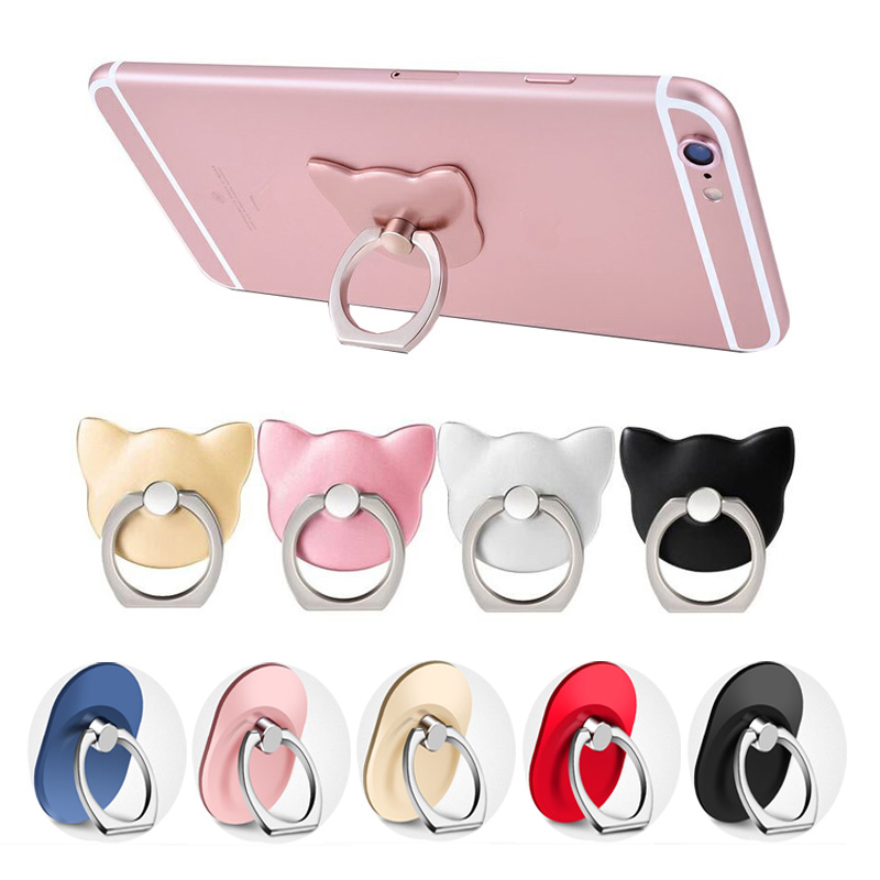 Phone Finger Ring holder Mobile Smartphone Stand car holder For iPhone 8 7 plus Samsung 8 plus s9 huawei mate 10 lite redmi 5a
