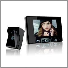"""Saful 7 """"TFT de Intercomunicación de Vídeo de 2.4 GHz Inalámbrico Digital Sistema de Teléfono de La Puerta con 1 Cámara WiFi Timbre Timbre Monitor de Visión Nocturna"""