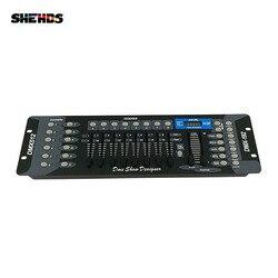 Бесплатная доставка Новинка 192 DMX контроллер диджей оборудование DMX 512 консоль сценическое освещение для LED Par движущаяся головка прожекторы ...