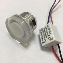 AC110V 220V 3W new cob spot 10pcs Adjustable-pitch Led Down Light Energy Saving Spot Home Ceiling Downlight Mini Recessed Lamp