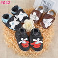 2016 New baby leather shoes spring anti-slip first walkers newborn infant prewalkers  toddler crib shoes plane