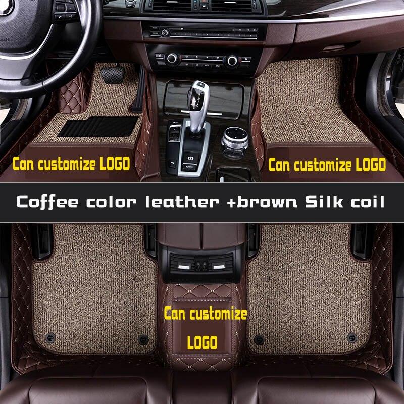 Tapis de sol de voiture pour toyota prado 120 90 95 2015 accessoires toyota land cruiser prado 120 150 3d tapis de sol personnalisés pour voitures prado