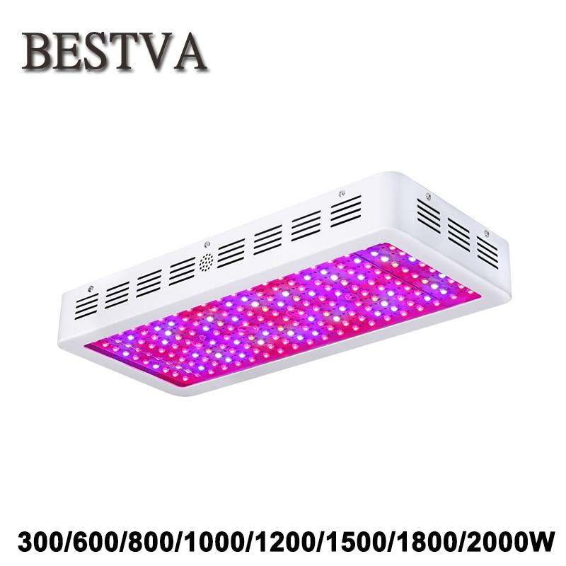 BestVA 300 W 600 W 800 W 1000 W 1200 W 1500 W 1800 W 2000 W Spectre Complet LED Élèvent La Lumière pour plantes d'intérieur élèvent led lumière à effet de serre led
