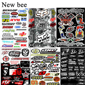 Newbee Skull Film Sticker For Motorcycle Bike Car Unit Scooter Funny Decals
