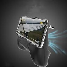 For Pubg Mobiele Controller Gamepad Mobile Trigger  Shooter Joystick Game Pad Phone Holder Cooler Fan With