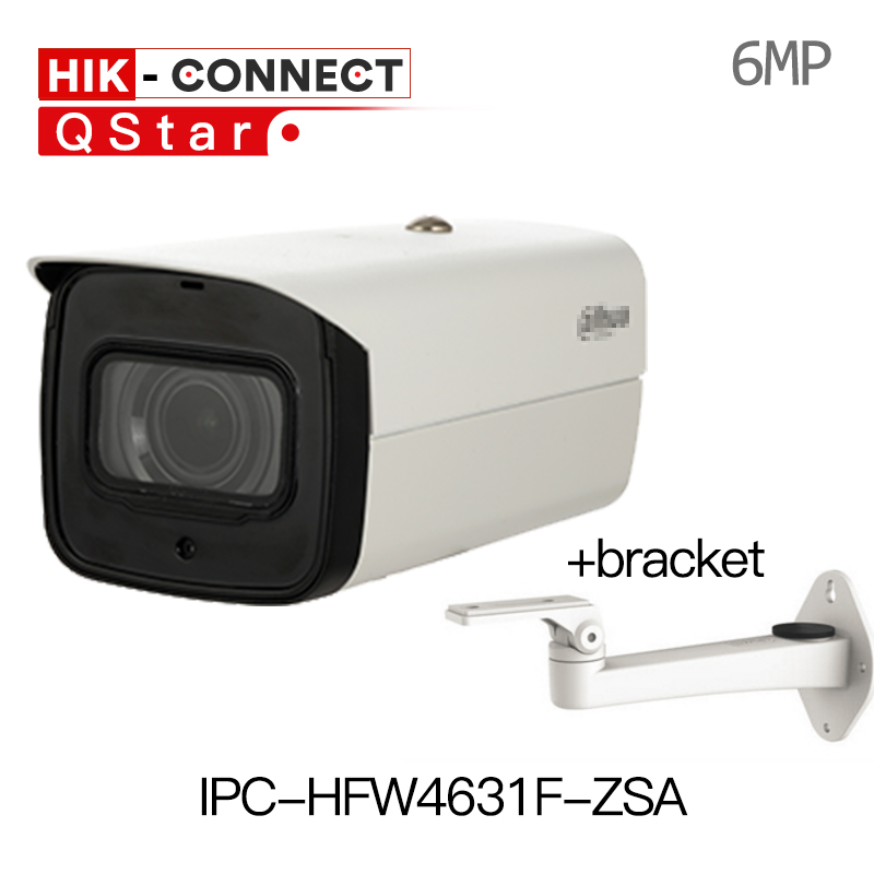 Dahua H.265 IP Camera IPC-HFW4631F-ZSA 2.7-13.5mm VF motorized lens 1080p outdoor Bullet Camera built-in Microphone SD Card Slot