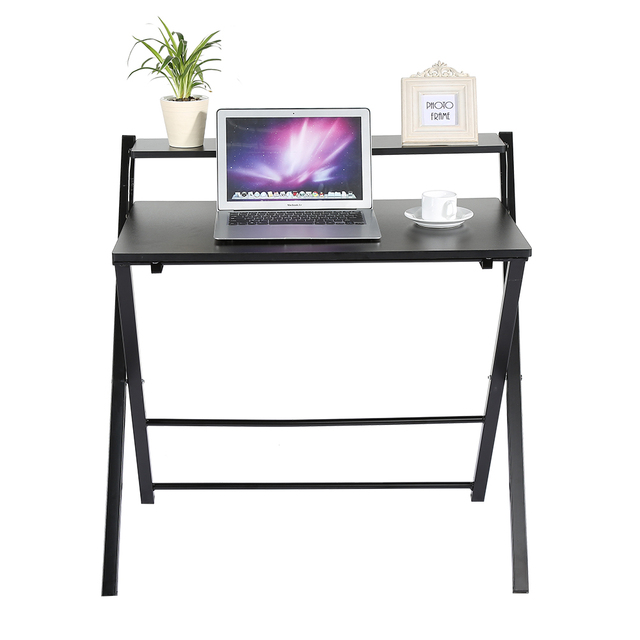 Folding Table Computer Desk For Work At Home Office Laptop Table Stand  Portable Notebook Desk