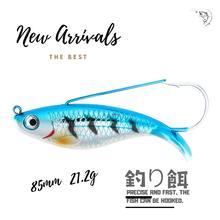 high quality 1Pcs Fishing Lure 8cm 21.4g Floating/Crank Wobbler Hard Pike Crankbait Minnow