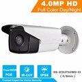 2015 Nova Versão Inglês Câmera IP 4.0 megapixel Câmera POE CCTV Camera DS-2CD2T42WD-I3 V5.3.3 Multi Language