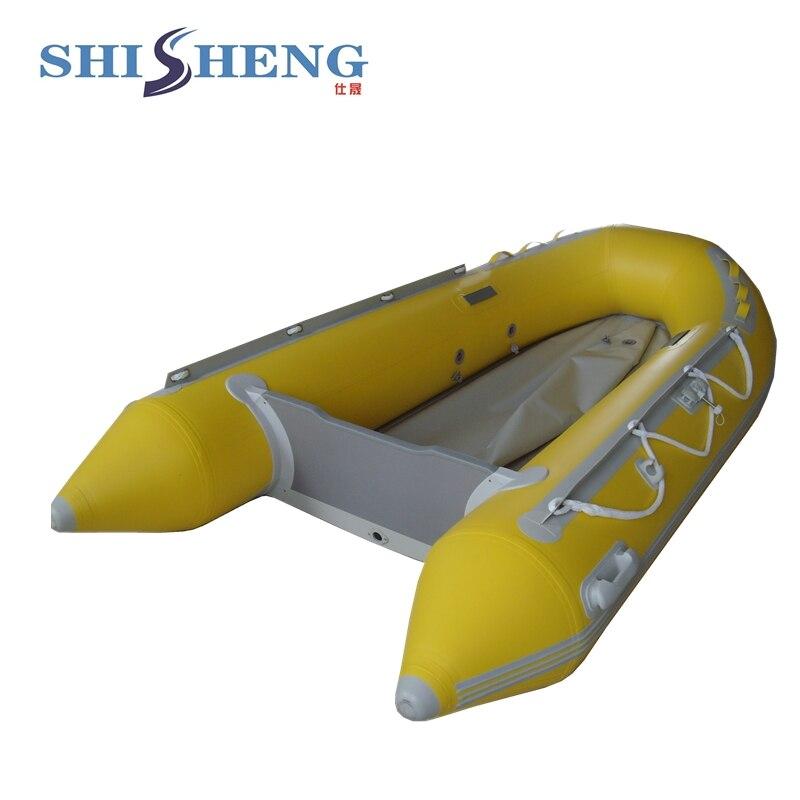Bateau gonflable de pêche d'individu de bateau à rames de petite pagaie d'eau matérielle de PVC