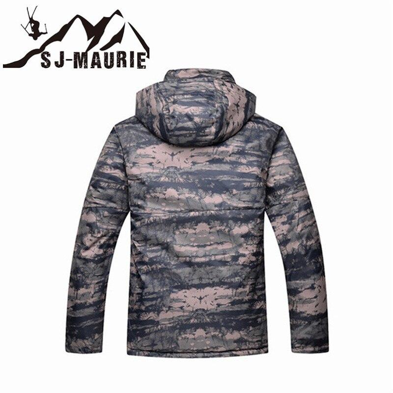 Veste de Ski homme veste de Snowboard Camouflage combinaison de Ski hiver imperméable coupe-vent veste de chasse d'hiver - 2