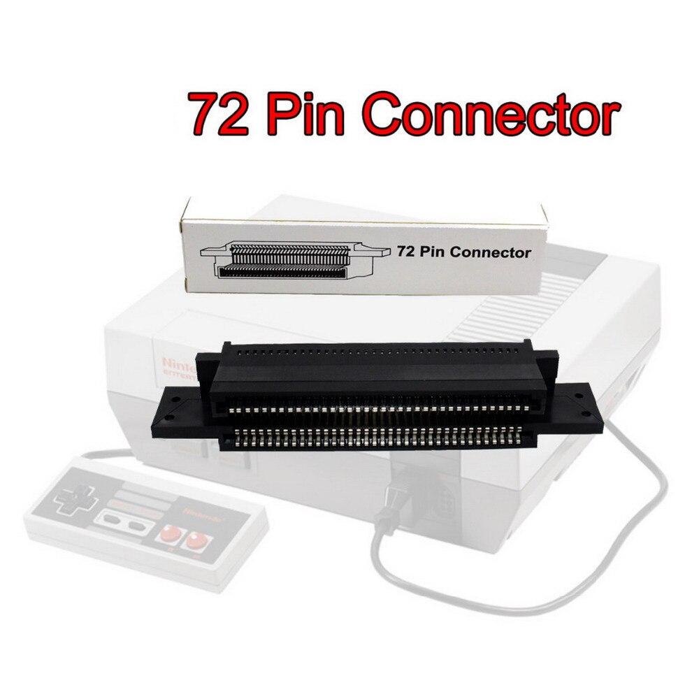 72 pinos Do Adaptador Do Conector Parte Substituição Para Nintendo NES Cartucho de Jogo de Ferramenta #2