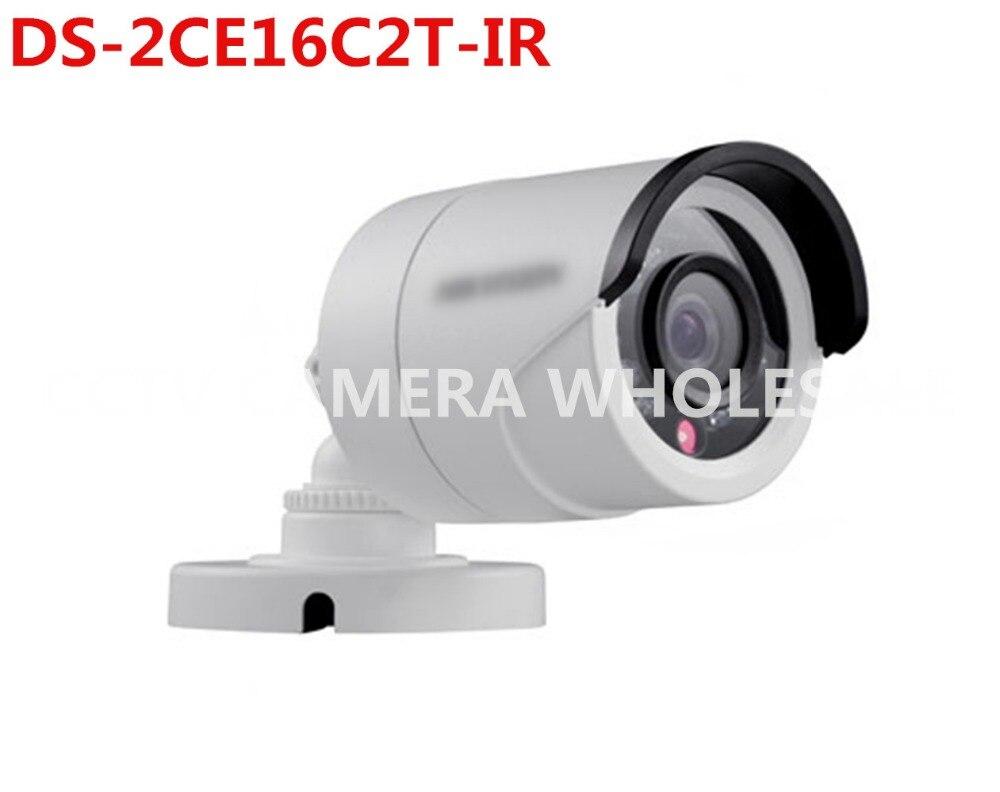 ФОТО English version DS-2CE16C2T-IR Turbo HD analog camera 720P CMOS 20m IR  LOW LIGHT outdoor bullet HD-TVI Camera
