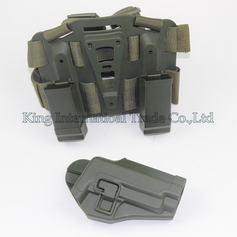 Arma de La Caza de Airsoft Combat Tactical Holster P226 CQC Holster Muslo Pierna