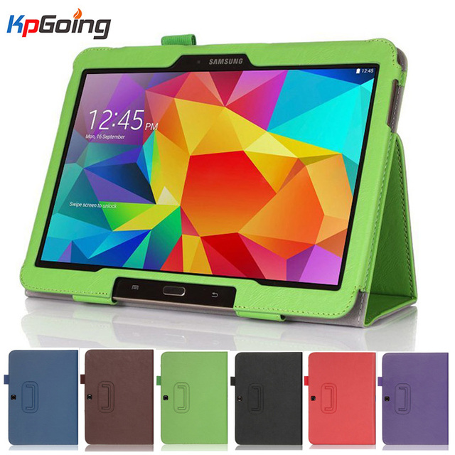 factory price f108b d6151 US $14.9 |Flip Case for Samsung Galaxy Tab 4 10.1 T530/T531/T535,Folio PU  Leather Tablet Stand PC Case Cover for Samsung Galaxy Tab 4 10.1-in Tablets  ...