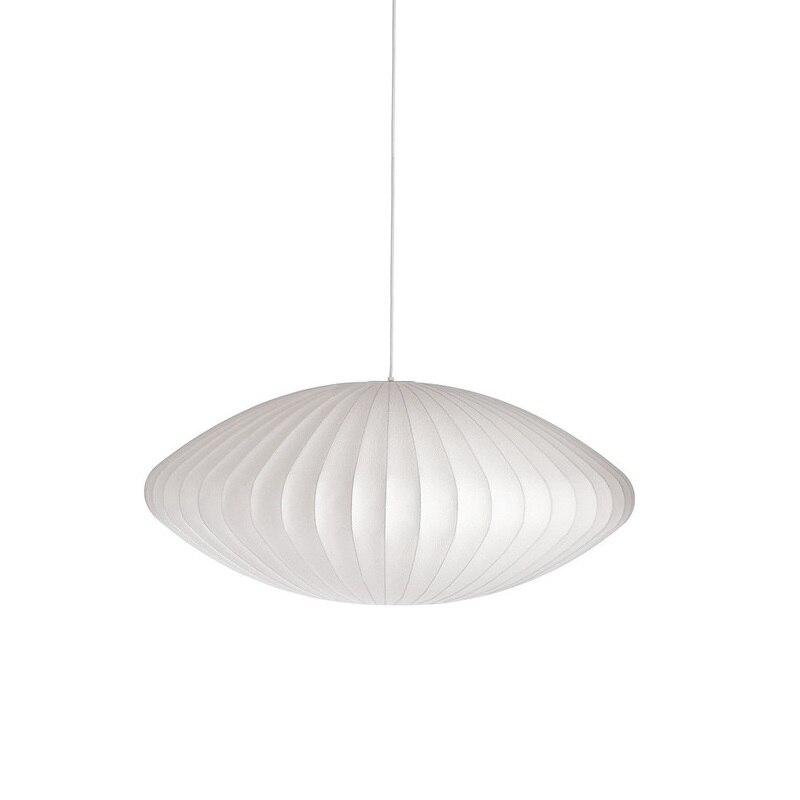 Soucoupe Suspension en soie blanche UFO Suspension lumières pour salon Restaurant luminaires Suspension Lustres PL315