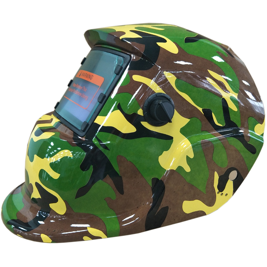 Solar armee schweißen maske militärische grüne farbe ersetzt batterie auto Verdunkelung Schweißhelm augen Schützen mig tig HD61 (2233FF)